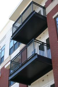 Completed DryJoist EZ at Radius Urban Apartments in Newport News, Virginia