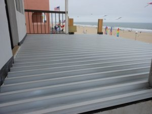 DryJoistEZ by Wahoo Decks in Ocean City, Maryland.