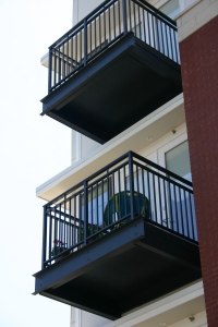 wahoo complete aluminum balcony for multifamily residential communities